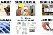 Antalya Barbaros Mahallesi Elektrikçi Usta Telefonu = 05425407044